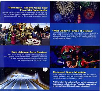 Notice that there is NOTHING about DCA on these flyers....
